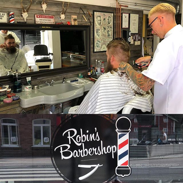 Check out robin's barbershop in the south of Sweden (city of ronneby) great guy and talented barber ️ keep up the hard work . @robinsbarbershop