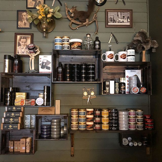 Grease&Peace barbershop is full with grease, wax , pomade and shaving creams , beard oils, shampoos and much much more .