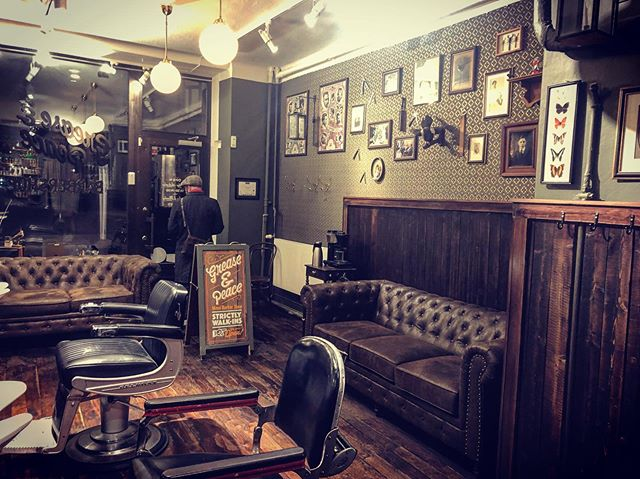 Open next week —————Tuesday to Saturday —————11:30 to 19:00 ————————-#greaseandpeacebarbershop #barbershop #stockholmsweden