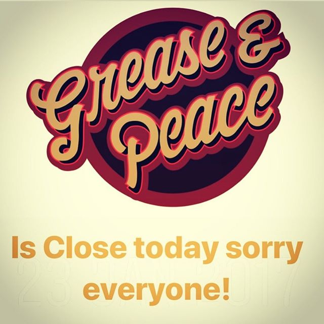 Closed today Wednesday the 6th. Open again Thursday the 7th .