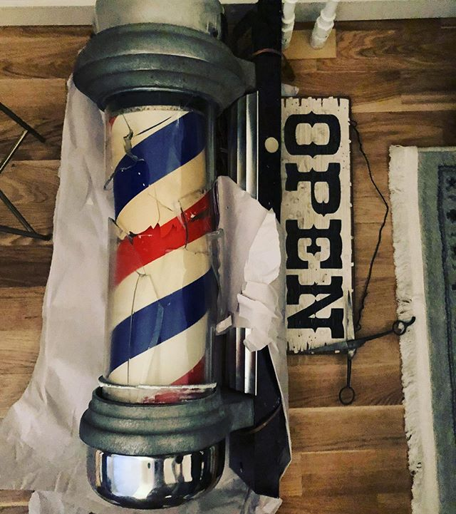 Grease&Peace barbershop will be open today. From 11:30 to 19:00 . See you all very soon .